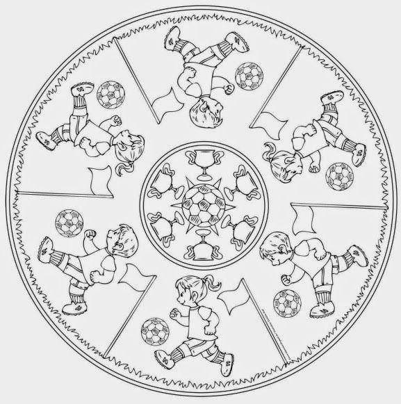 Vorlage Fur Ein Fussball Mandala Die Fussball Wm Naht Mit Grossen Schritten Und Ich Bin Gerade Dabei Etwas Material Fur Eine Ideenreise Zeichen Motive Vorlagen