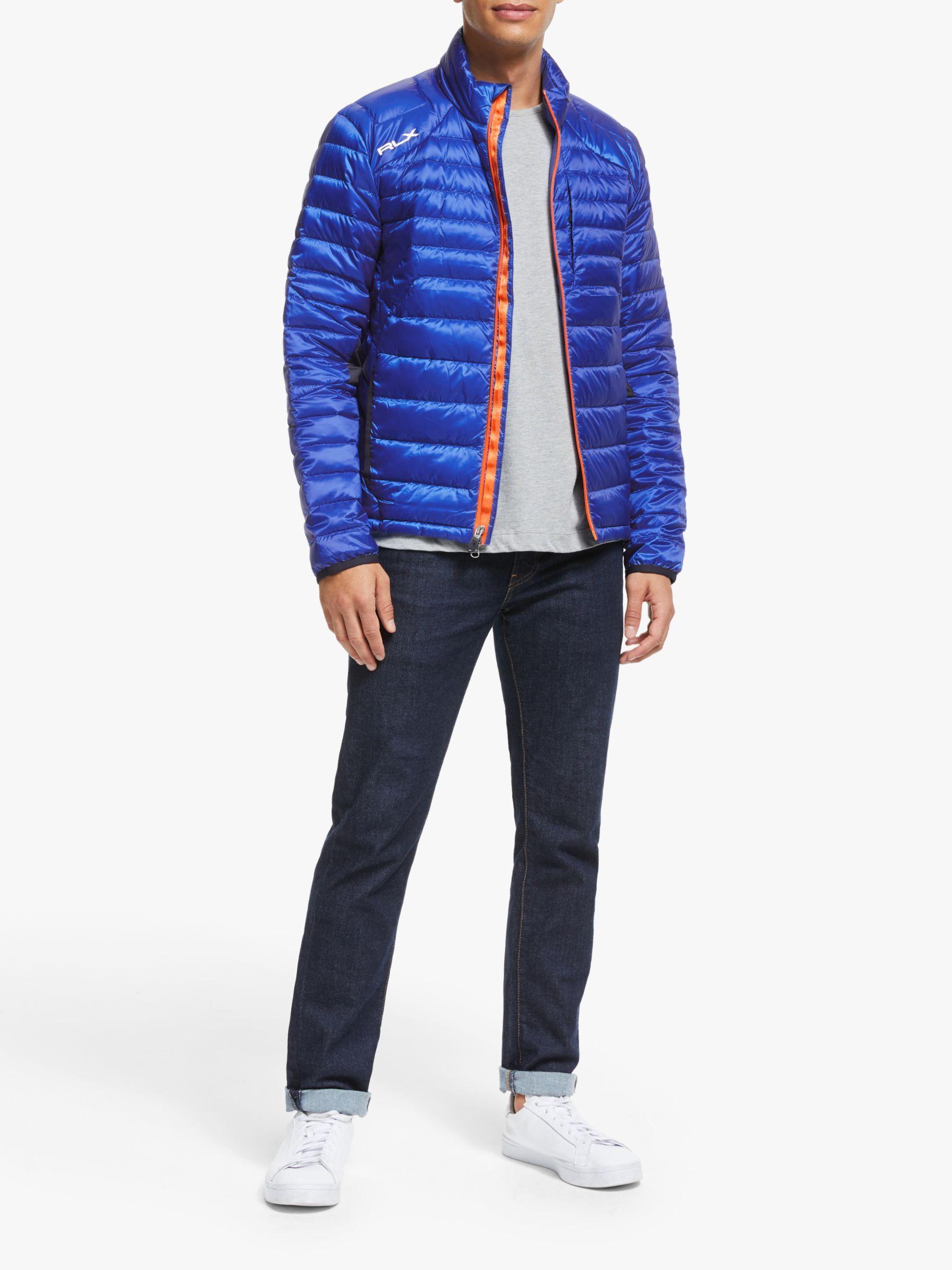 Polo Golf By Ralph Lauren Packable Down Jacket New Iris Blue Ralph Lauren Jackets
