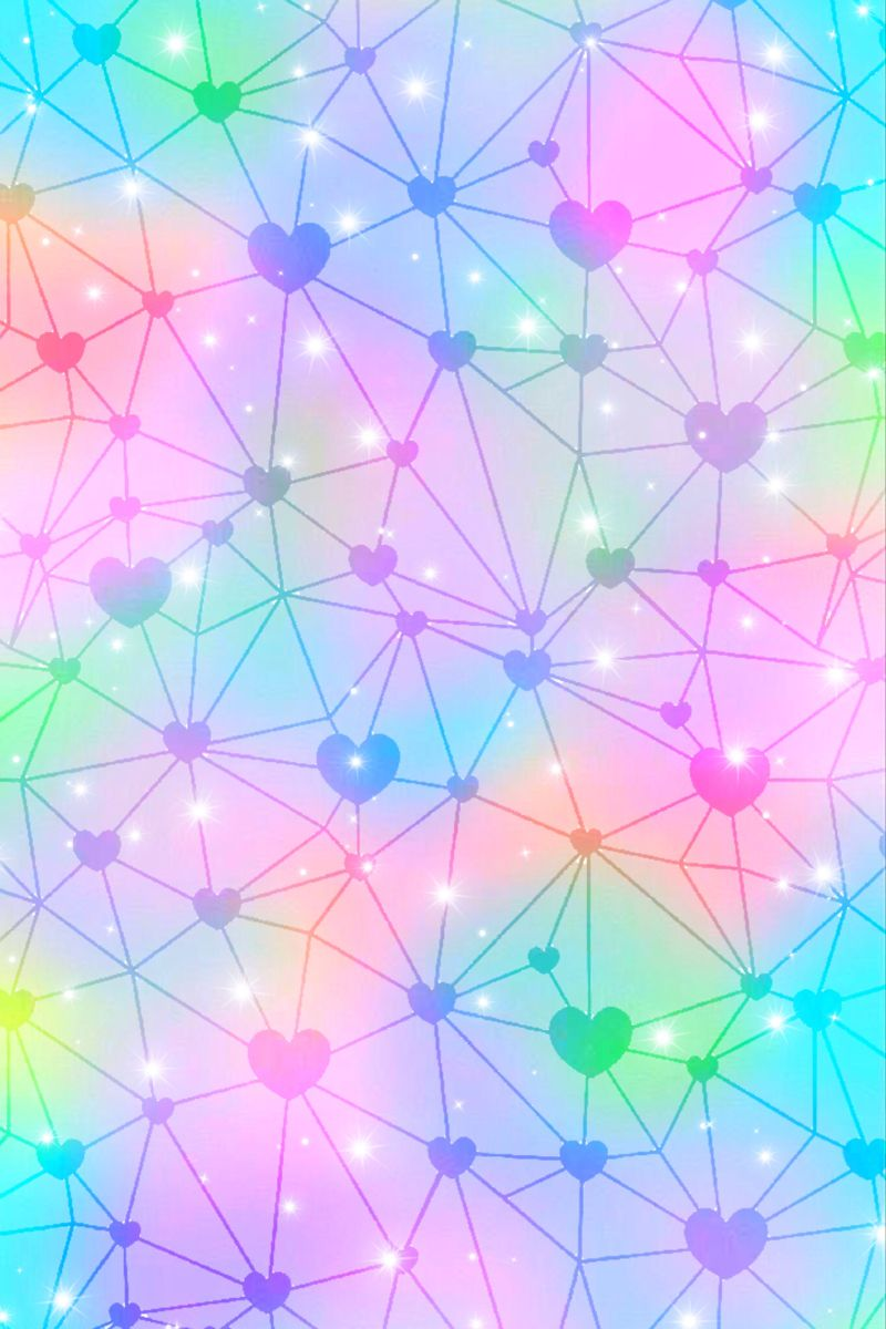 Connect The Hearts Sparkles Background Sparkle Wallpaper Cute Patterns Wallpaper