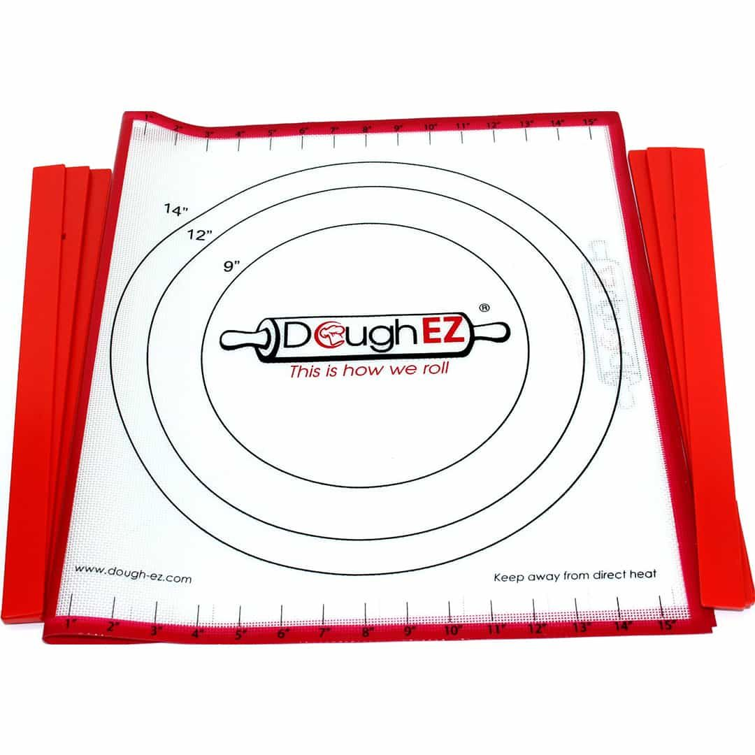 The Doughez Rolling System With 6 Guide Sticks Easy Baking