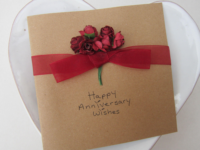 Anniversary card ruby anniversary card valentines card