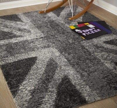 Black Union Jack Rug Rugs Ideas