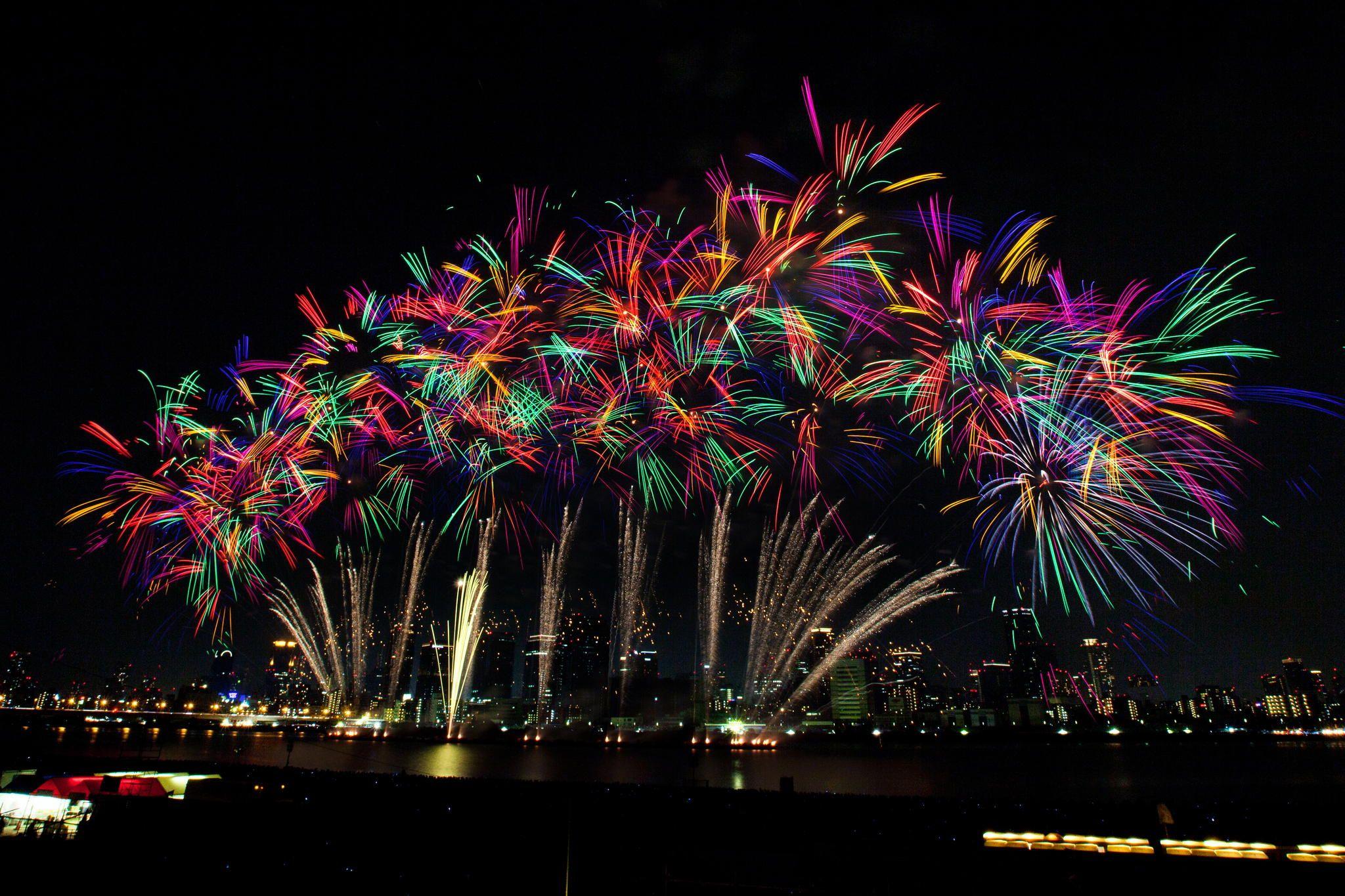 なにわ淀川花火大会 #Osaka #festival #fireworks