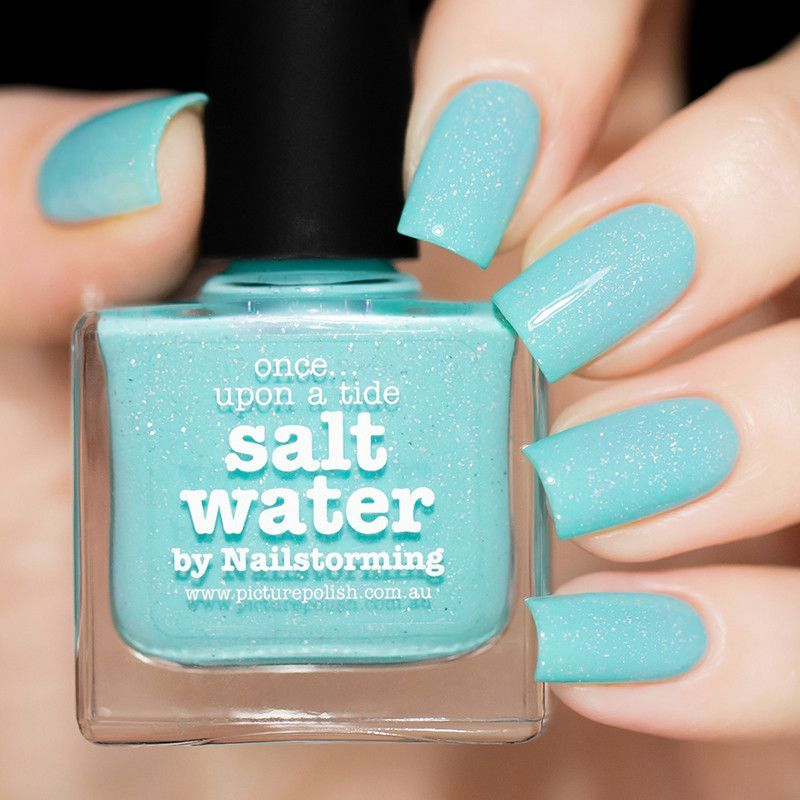 Salt Water Water Nails Picture Polish And Nail Polish Colors