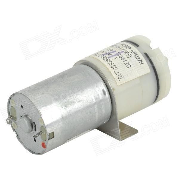 DD370 Mini Air / bloeddruk pomp Motor - Silver + wit