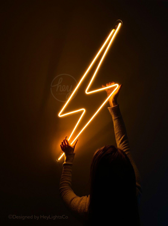 HeyLights Lightning BOLT LED Neon Sign
