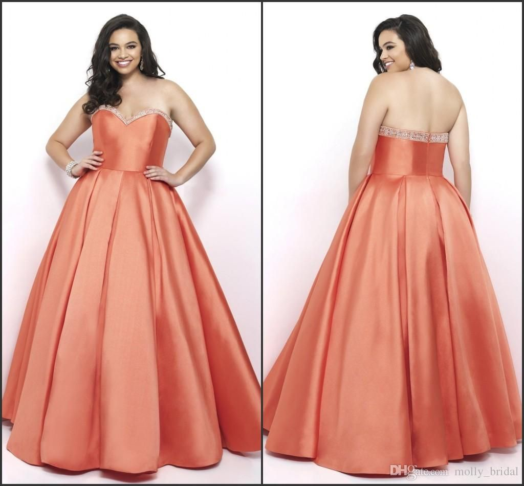 coral plus size prom dresses sweetheart sexy open back beaded