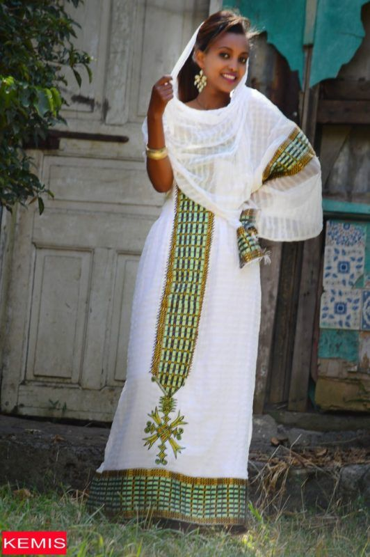 Buy Traditional Ethiopian Dresses In 2019 Habesha Kemis
