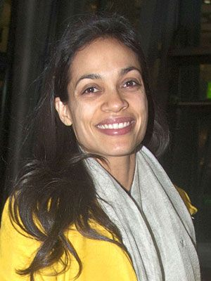 Rosario Dawson Rosario proves you don't need cosmetics to look great in a close-up.