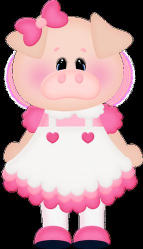 Tres Porquinhos Pig Crafts Pig Art Paper Dolls