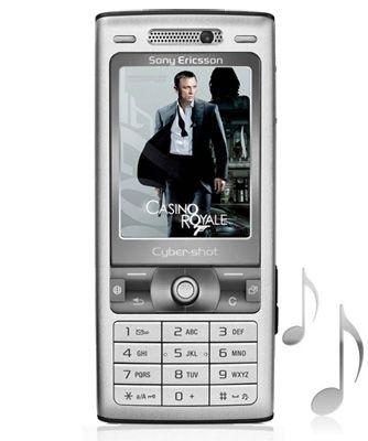 Sony Ericsson K800i ringtone used in Casino Royale | Sony
