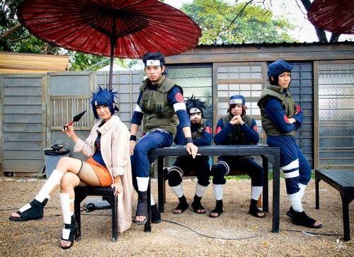 Anko - Genma - Asuma - Izumo - Kotetsu ::Naruto Shippuden::