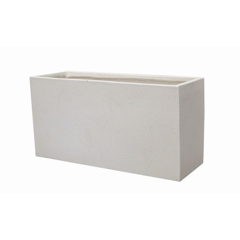 Find Northcote Pottery 80 X 31 X 36cm White Precinct Lite Terrazzo Trough At Bunnings Warehouse Visit Your Local Store For Outdoor Pots Garden Troughs Trough