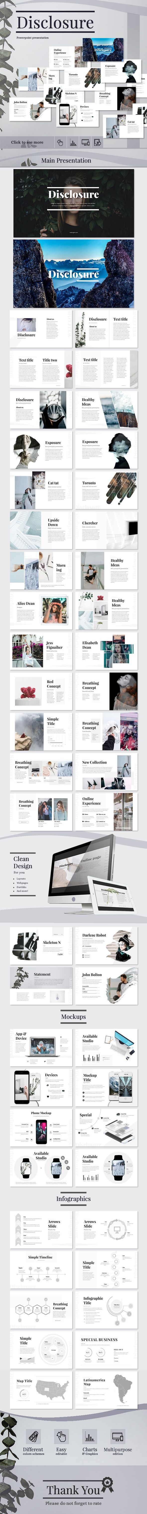 Disclosure business powerpoint templates template and creative buy disclosure by melongem on graphicriver disclosure powerpoint presentation get the disclosure template this is an unique powerpoint presentation can be toneelgroepblik Gallery