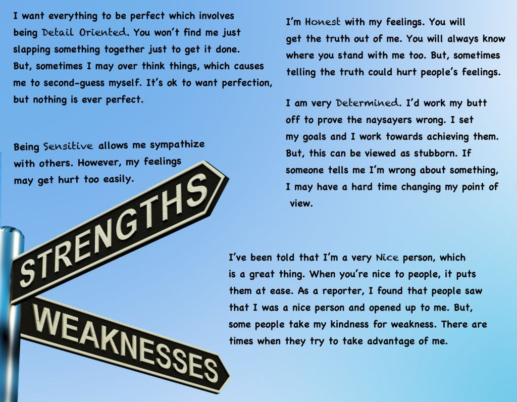 Strengths And Weaknesses As A Writer Essay - Assessment in the