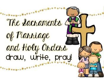 marriage and holy orders