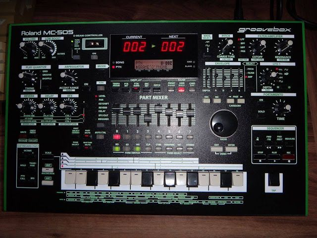 MATRIXSYNTH: Roland MC-505 Groovebox with Aira Skin For Sale | New