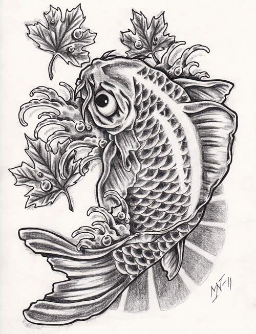 24 Tatuajes De Pez Koi Y Su Significado Tatuajes Para Mujeres Y