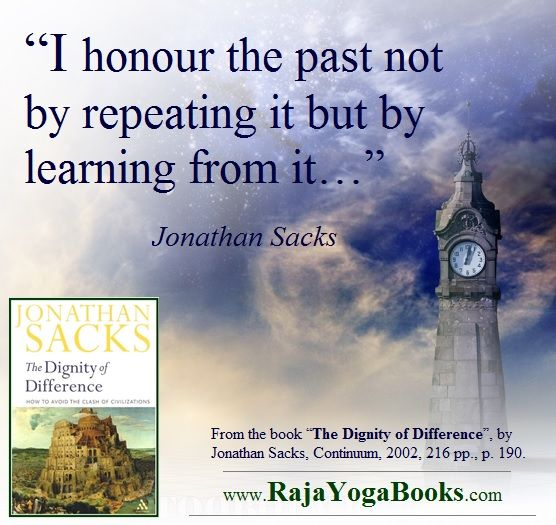 """See more about """"The Dignity of Difference"""": http://www.rajayogabooks.com/products/the-dignity-of-difference"""