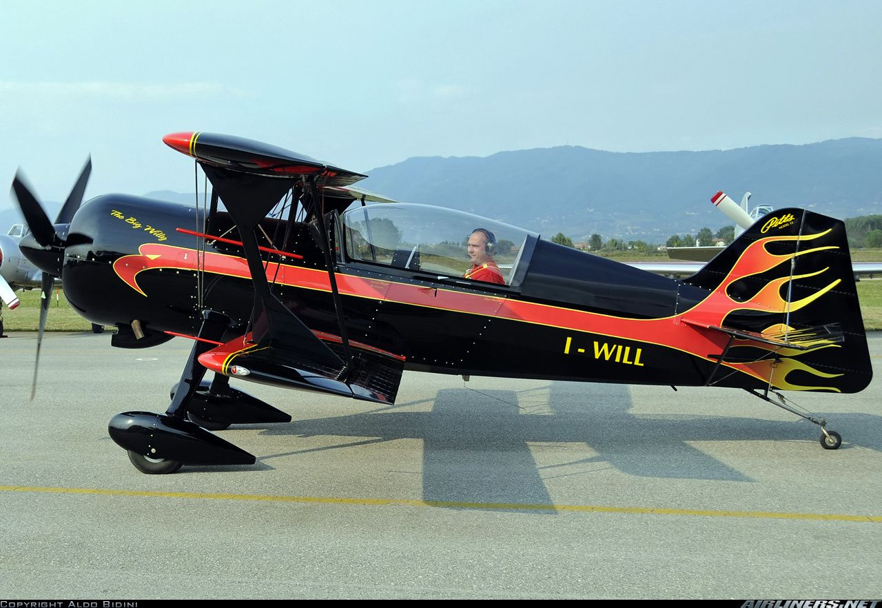 pitts aircraft | Picture of the Pitts 12 aircraft
