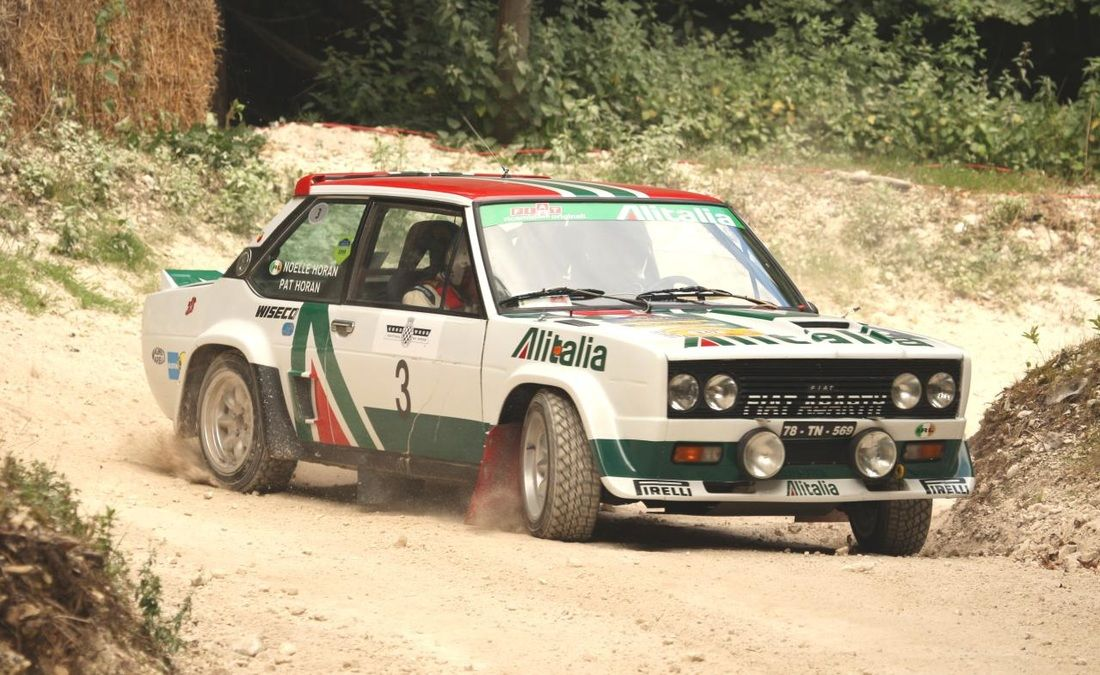 Fiat Abarth 131 Rally Car With Alitalia Livery With Images
