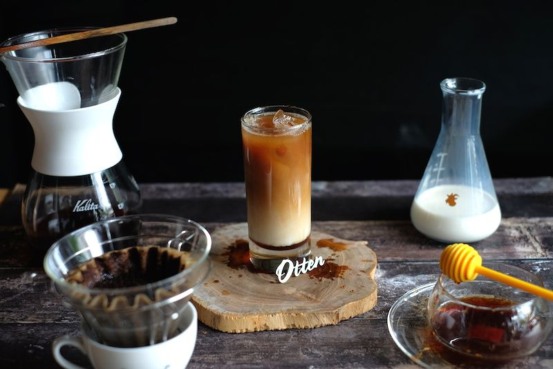 Kalita Iced Coffee With Honey Resep Kopi Kopi Resep