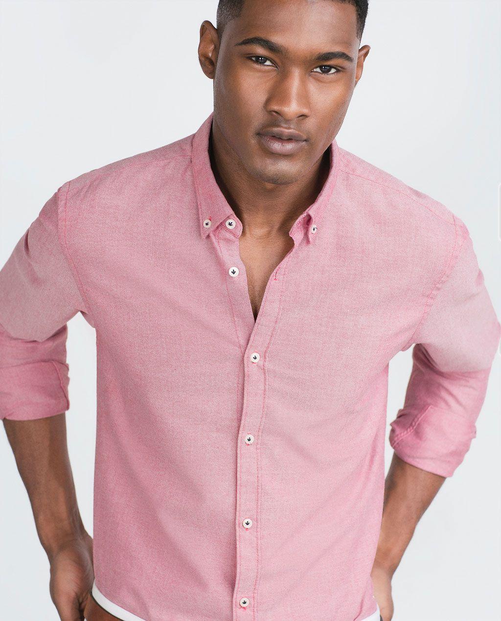 Oxford Overhemden Collectie Ss16Zara Overhemd Heren Effen Casual SUqpVLzMG
