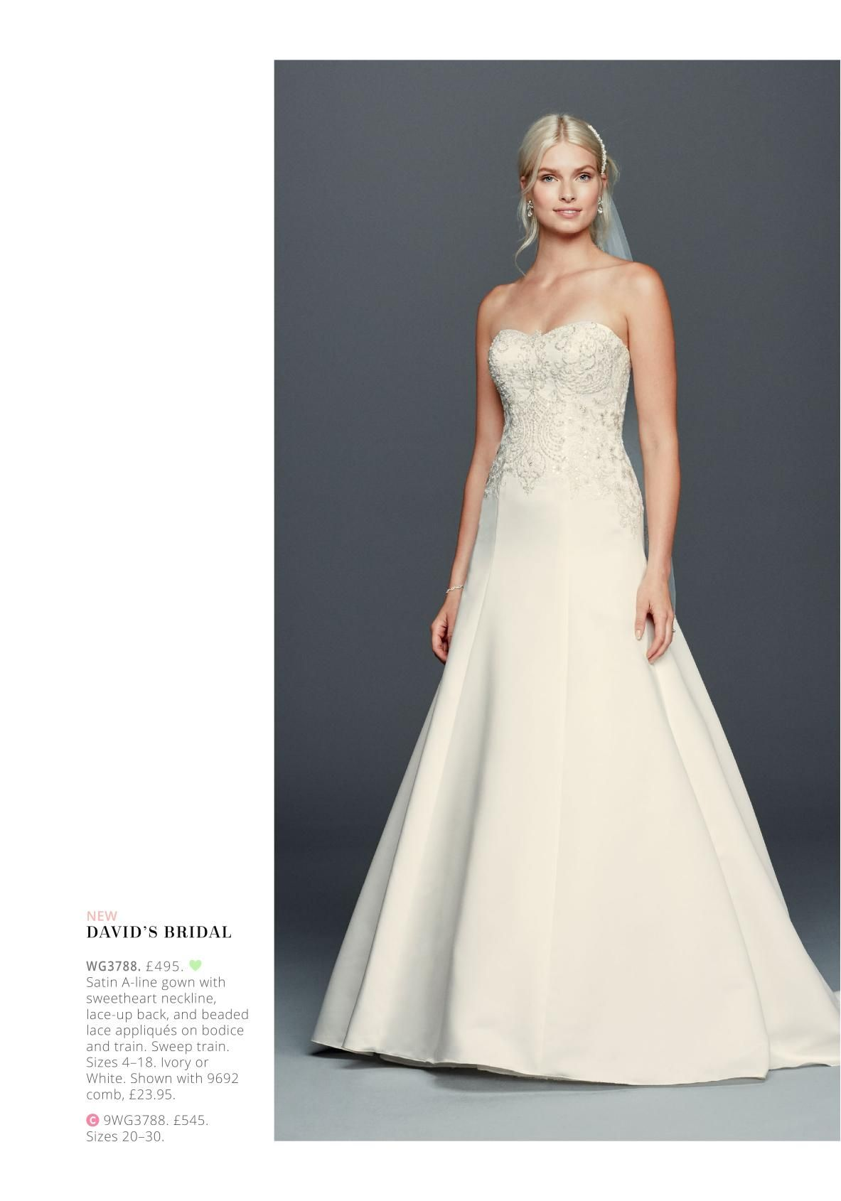 Davidus bridal online catalog letus get married dress pinterest