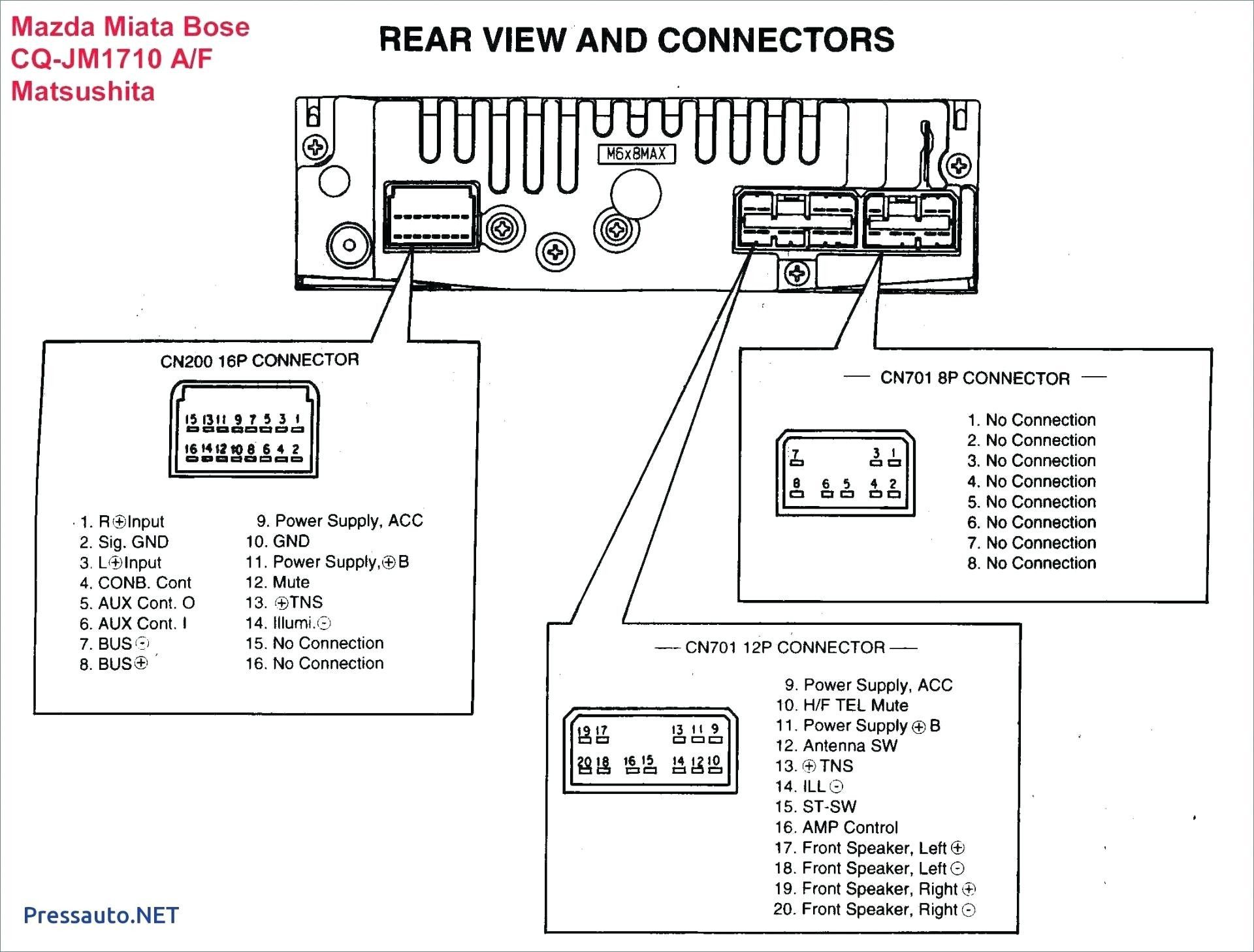 Car Amplifier Connection Diagram In 2021 Sony Car Stereo Pioneer Car Audio Car Stereo Systems