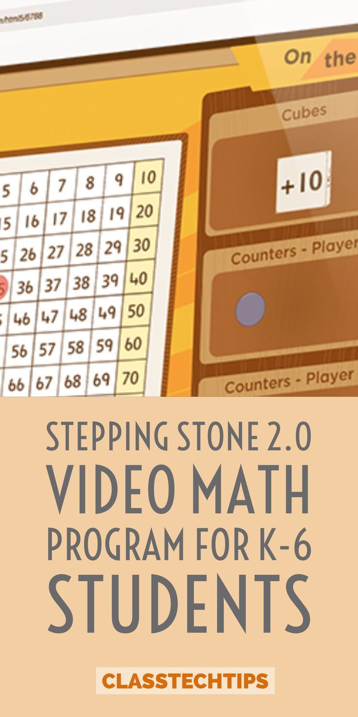 Stepping Stones 2.0 Video Math Program for K-6 Students | Math ...