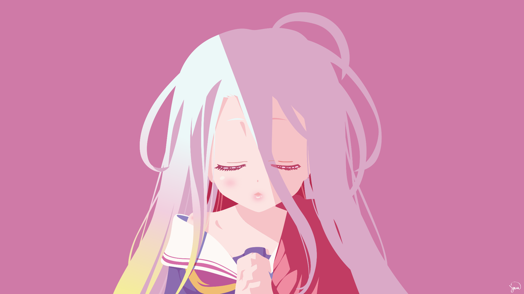Shiro (No Game No Life) Vector Art by greenmapple17 on