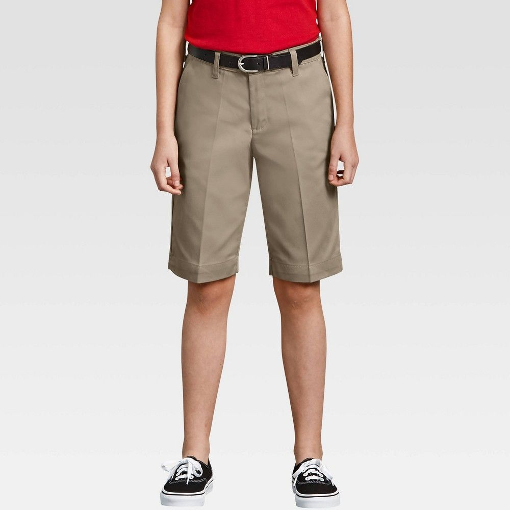 Dickies Womens Plus-Size 10-Inch Stretch Twill Short