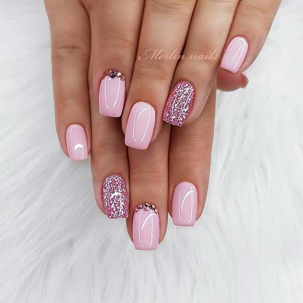 43 Light Pink Nail Designs and Ideas to Try | Stay