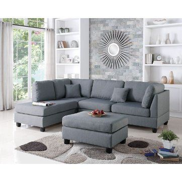 Bibler Reversible Chaise Sectional | Sofas | Pinterest | Birch Lane, Birch  And Room Ideas