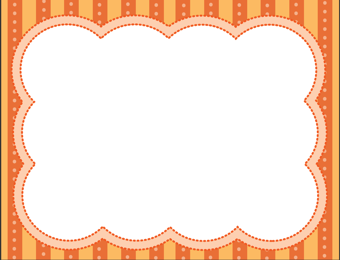 Orange Frame | Printables | Pinterest | Frame, Borders and frames ...