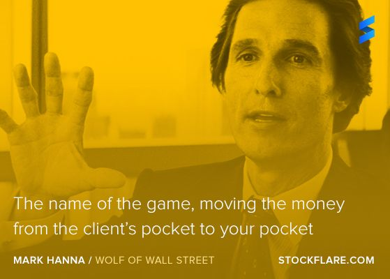 """#quote From Wolf Of Wall St Character, Mark Hanna """"The"""
