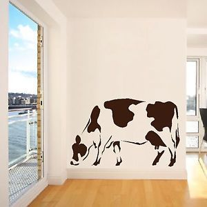 Moo Cow Farm Animal Wall Sticker Home Art Decor Design Kitchen Decal Graphic A38 Cow Wall Decor Wall Stickers Home Cow Decor