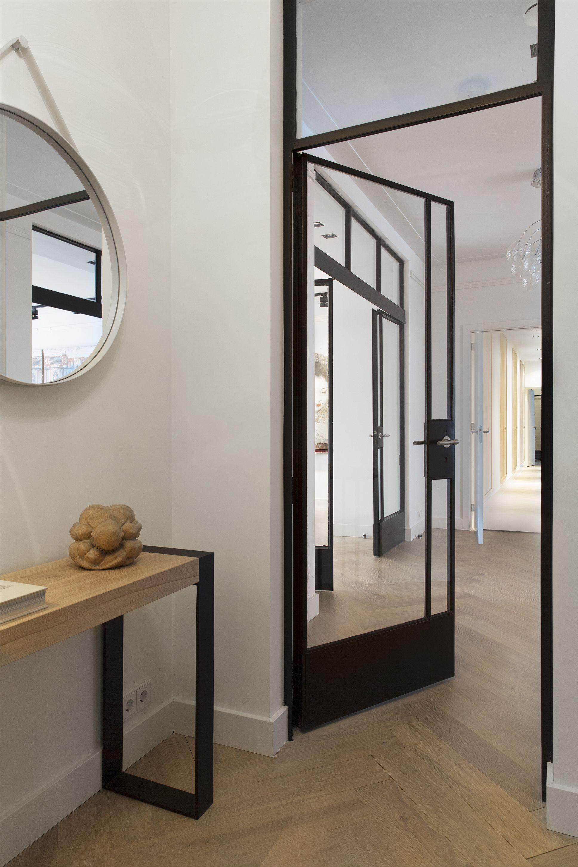 Stalen deur naar hal! mooi! | 381 | Pinterest | Steel doors, Door ...