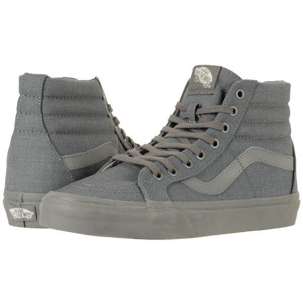 Vans SK8 Hi Negras gris
