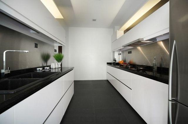 Osez la décoration noir et blanc pour votre cuisine in 2018
