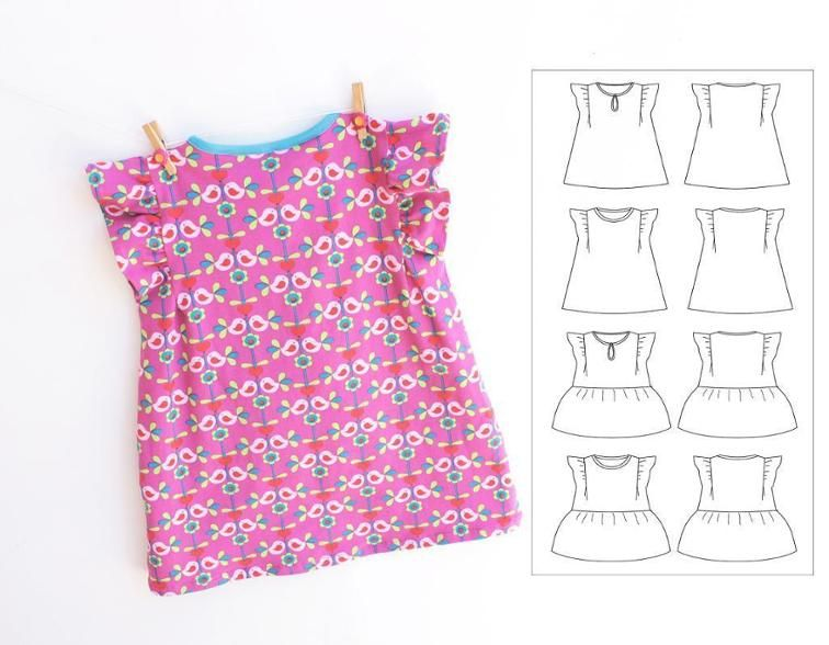 SWEETHEART KNIT Dress 0-10 years | Craftsy