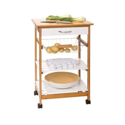 Bamboo Kitchen Trolley 40 00 Kitchen Gadgets Kitchen Trolley Pantry Storage Kitchen