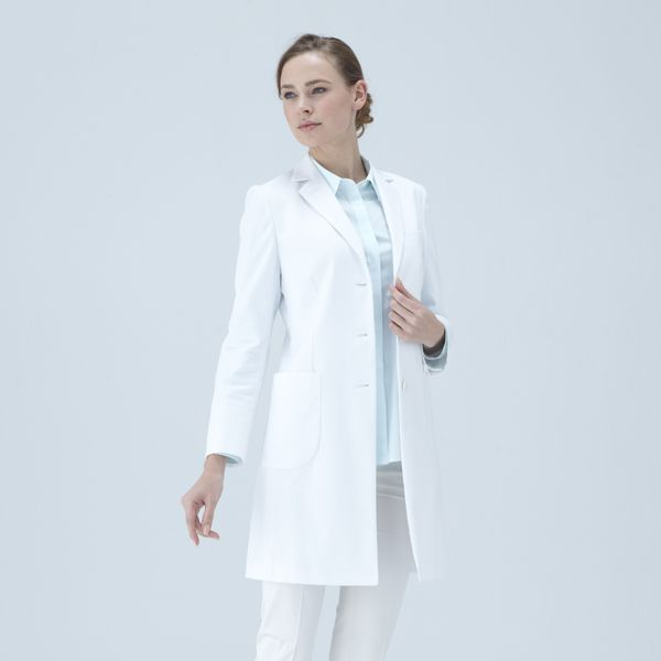 Nude Fit Lab Coat : Stylish Tight Fit Doctor Lab Coats - Classico ...