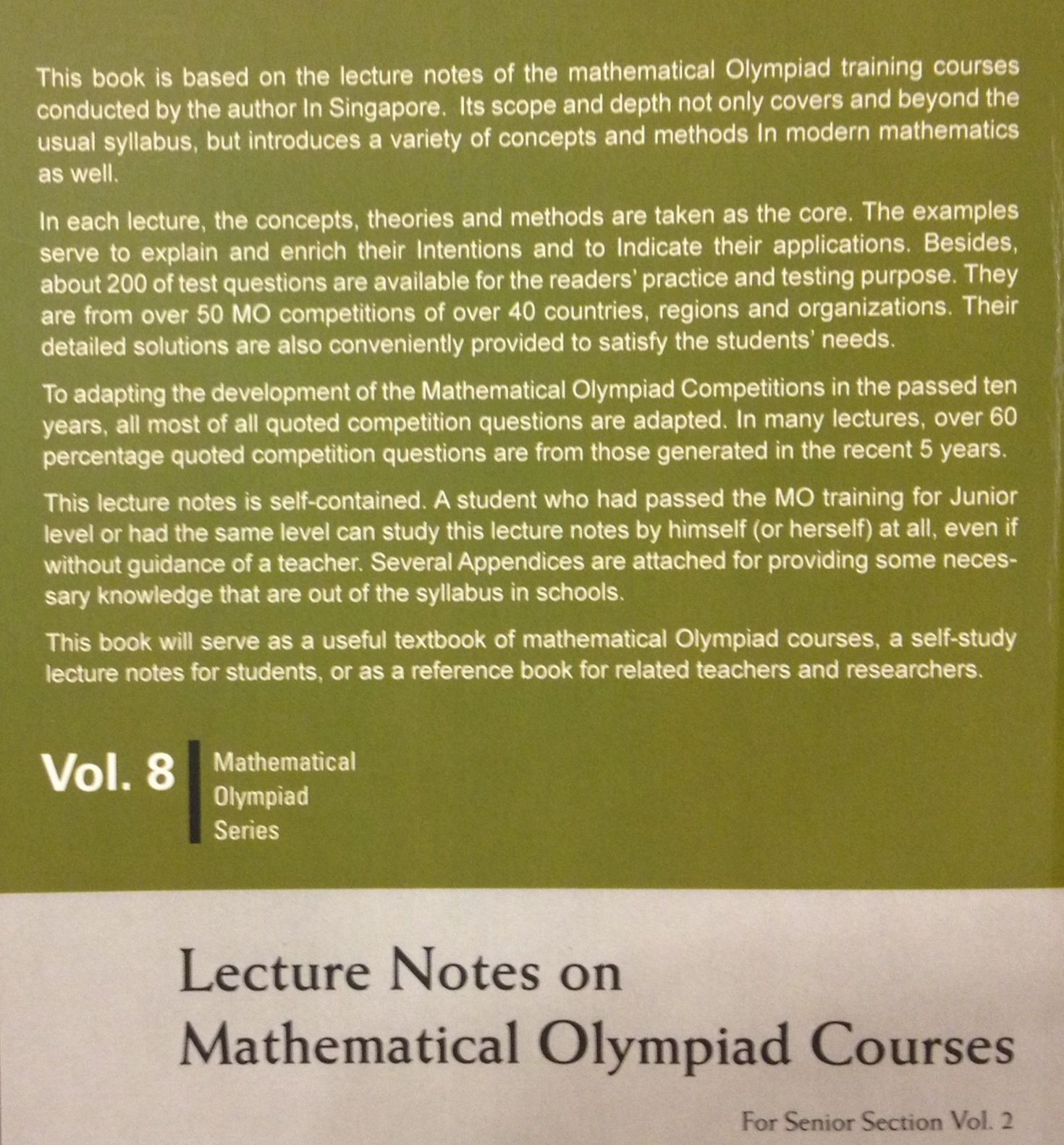 Read This Blurb From A World Scientific S 2012 Publication