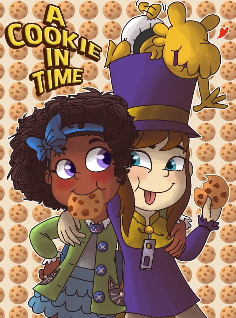 A Cookie In Time By Samthelily A Hat In Time A Hat In Time Fanart Hat In Time