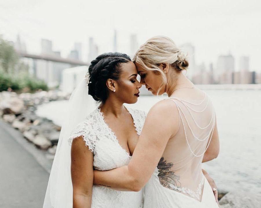 Lesbian wedding archives