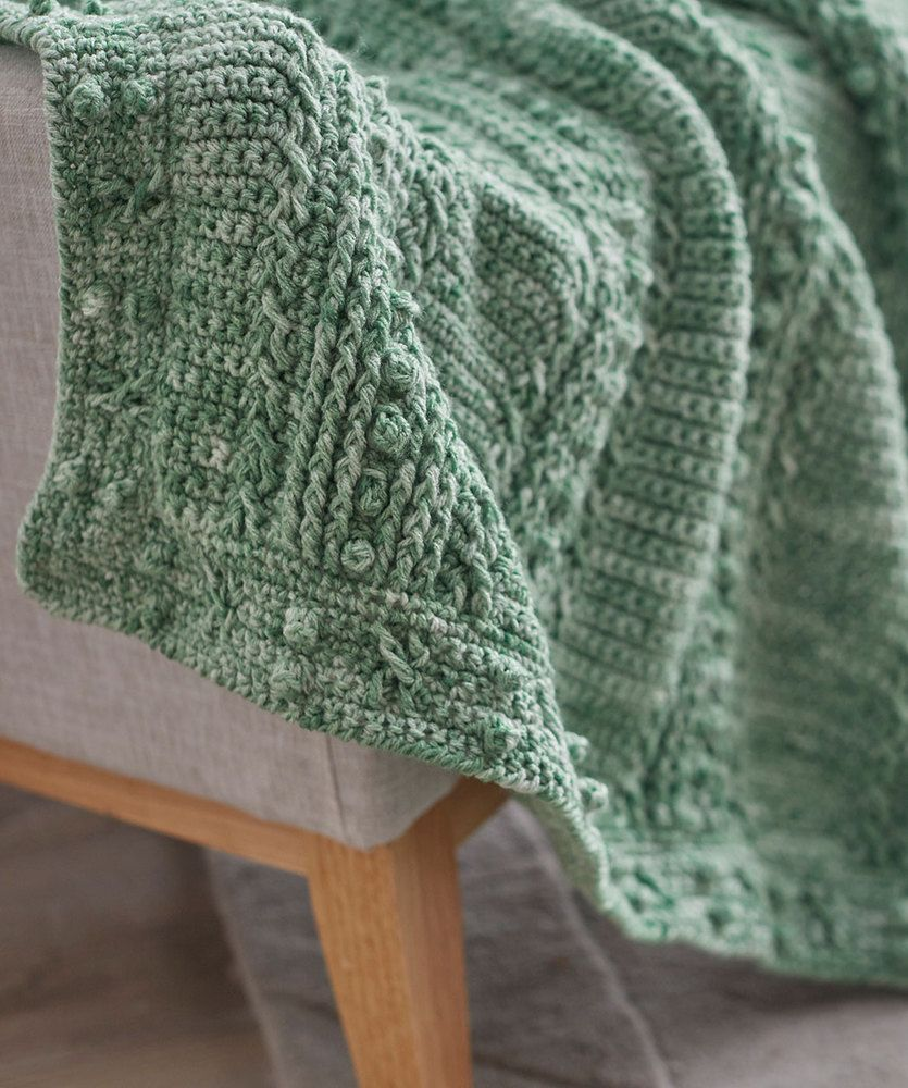Comforting One-Color Throw Free Crochet Pattern | Free crochet ...