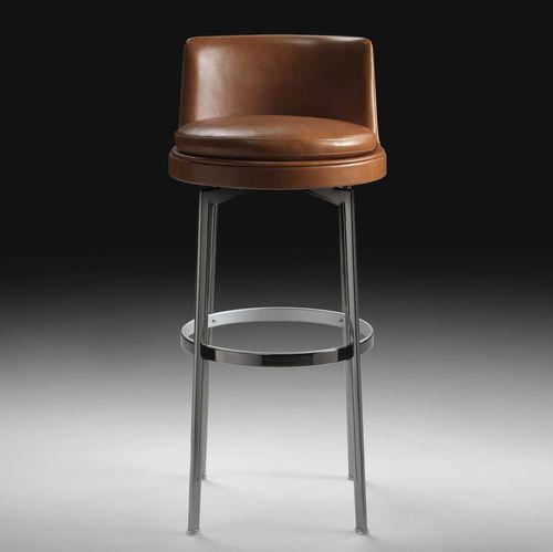 Barhocker modern leder aus metall feel good flexform furniture barhocker hocker und - Barhocker modern ...