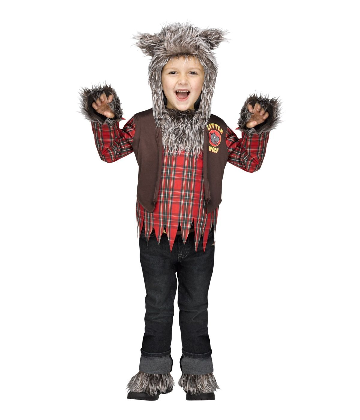little boys wolf halloween werewolf costume small 46 - Halloween Costumes Wolf