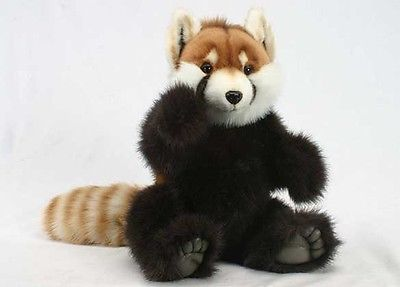Hansa Plush Large Red Panda 4478 Realistic Stuffed Animal Handmade